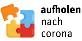 Logo Aufholen nach Corona
